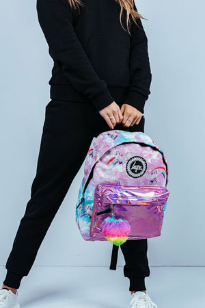 Hype Unicorn Holo Backpack