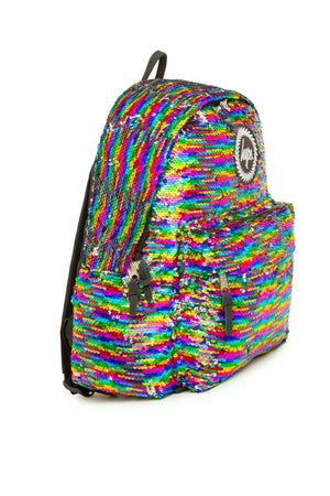 Rainbow Sequin Backpack - Multi