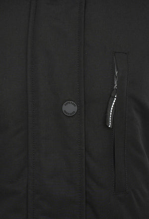 Everest Parka Coat - Black