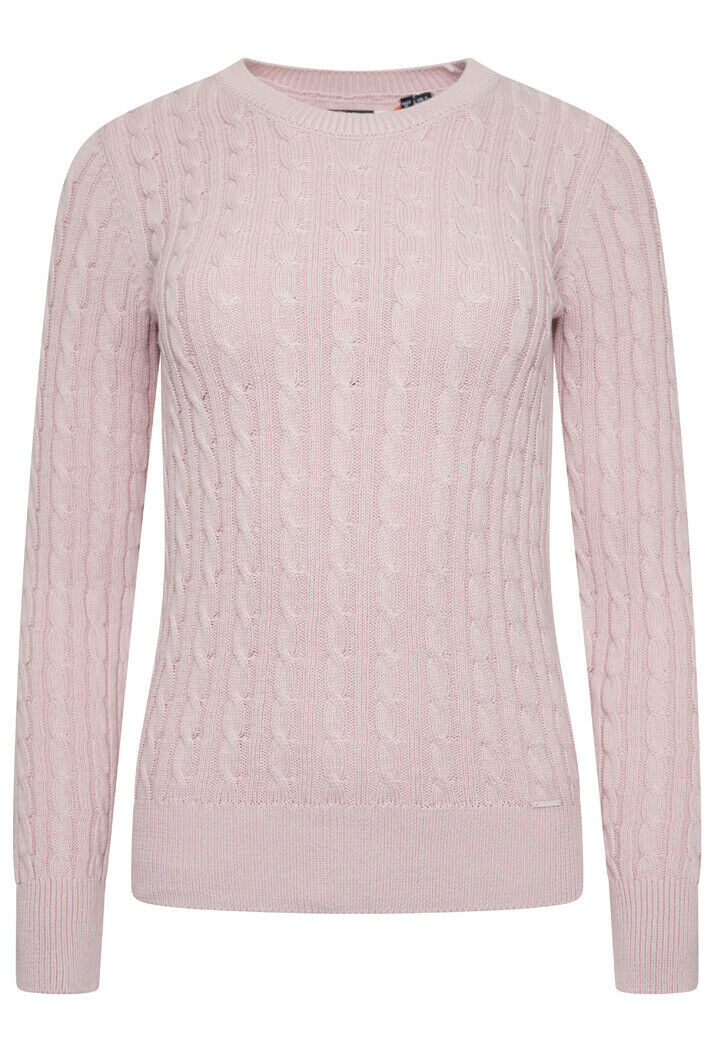 Croyde Bay Knitted Jumper - Soft Pink