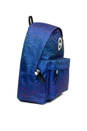 Rainbow Splat Backpack - Blue/Multi