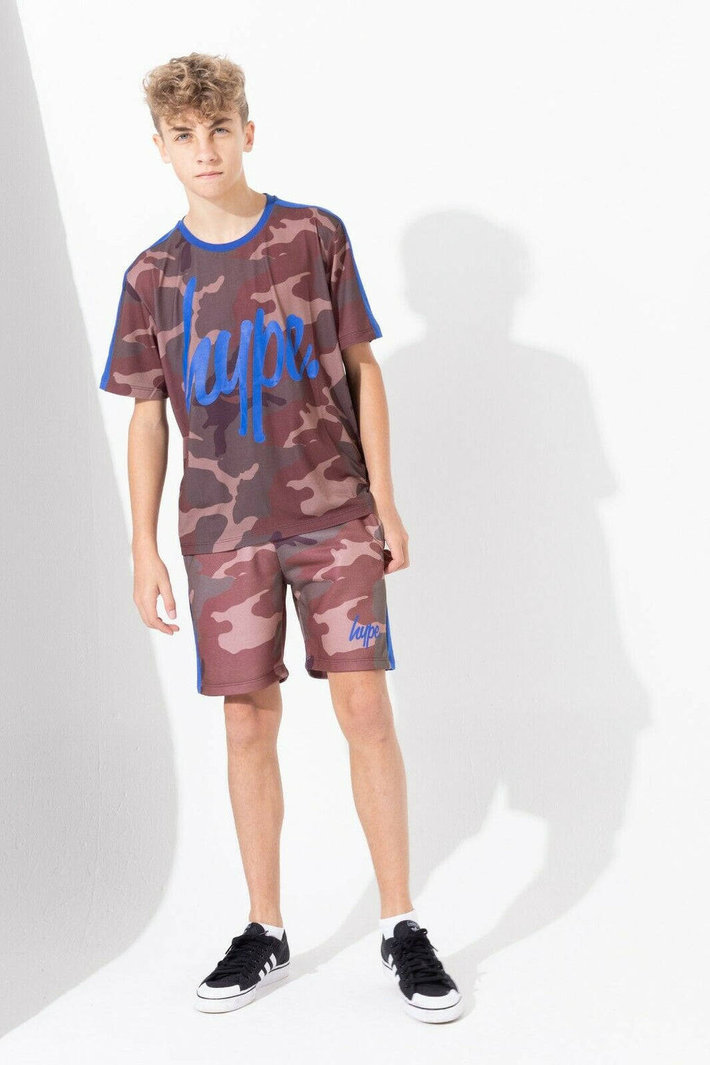 Northern Camo Kids Shorts