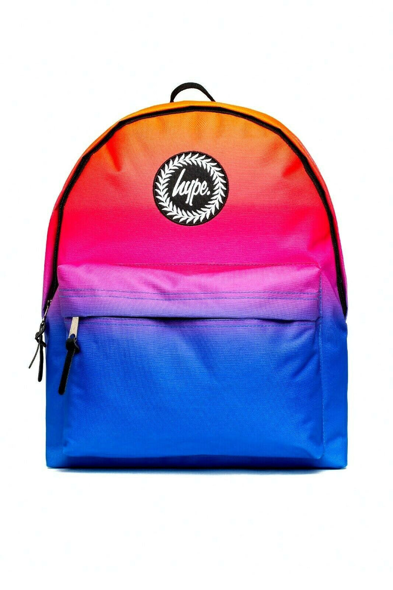 HYPE HI-FI FADE BACKPACK RUCKSACK BAG - MULTI