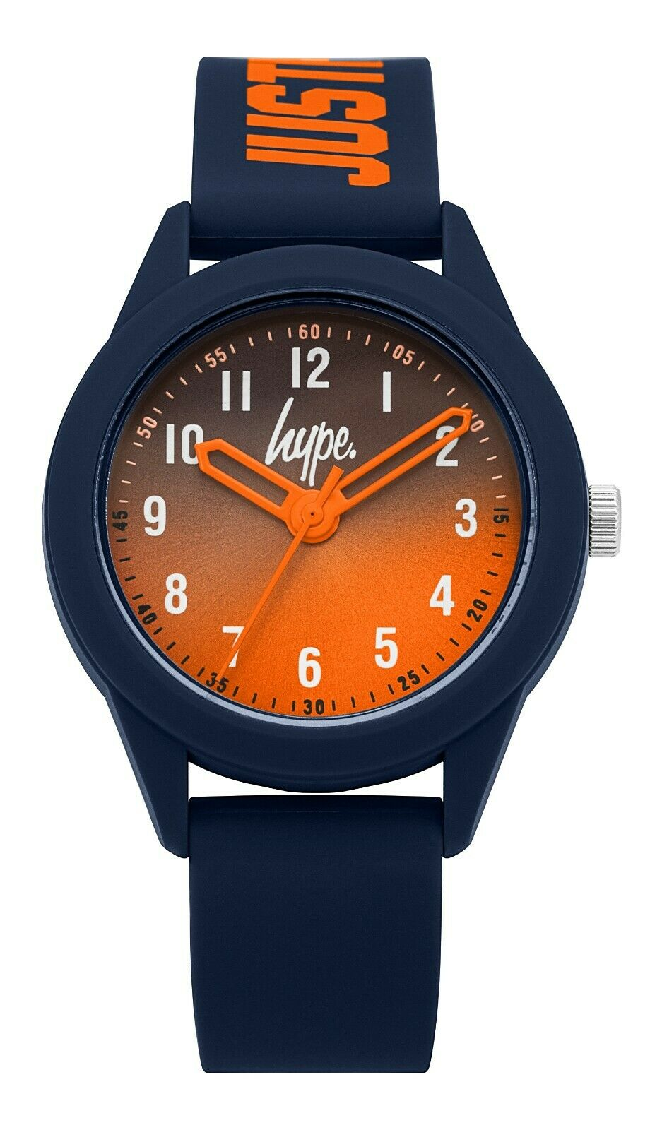 Navy/Orange JUSTHYPE Kids Watch