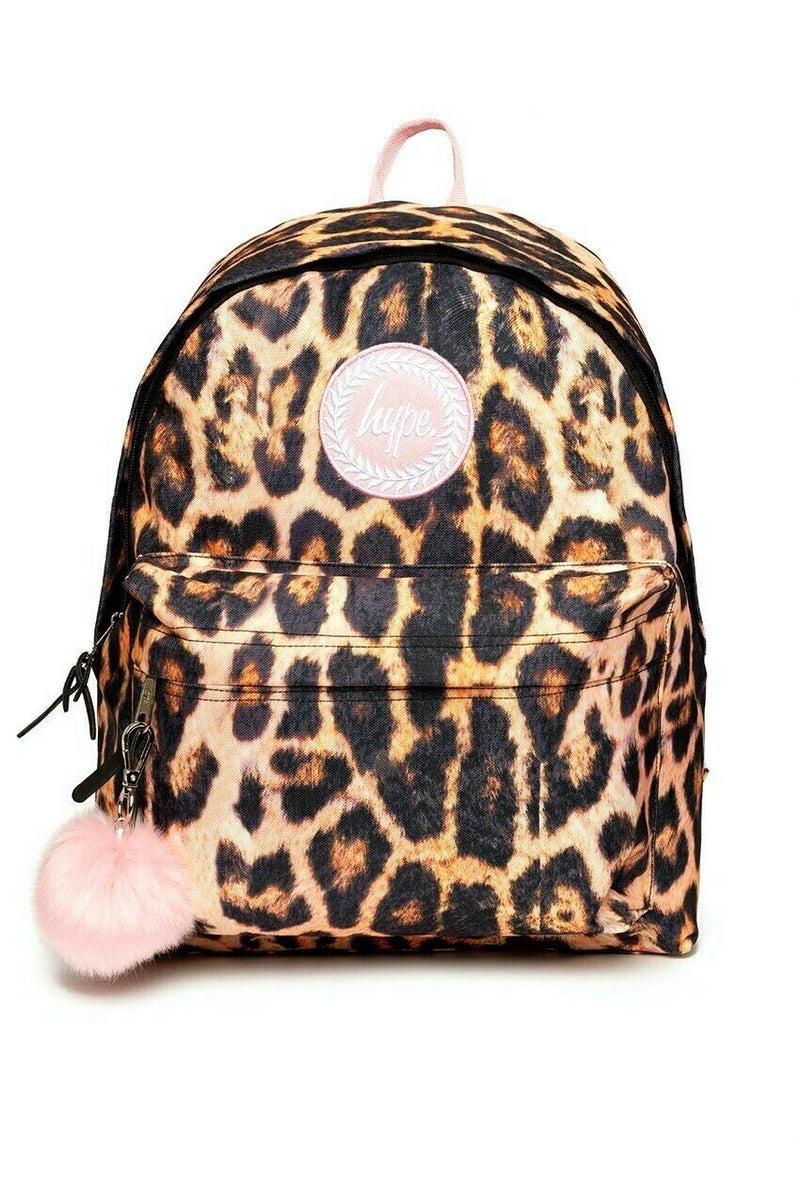 Blush Leopard Backpack