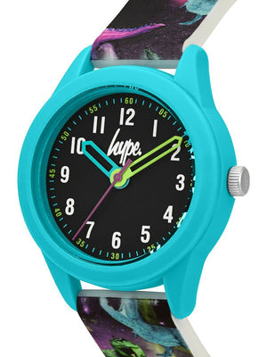 Kids Dinosaur Print Soft Touch Watch