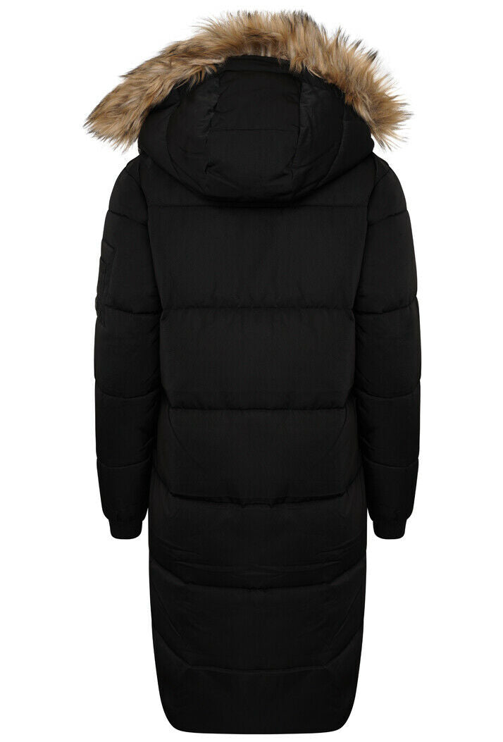 Longline Chinook Coat - Black