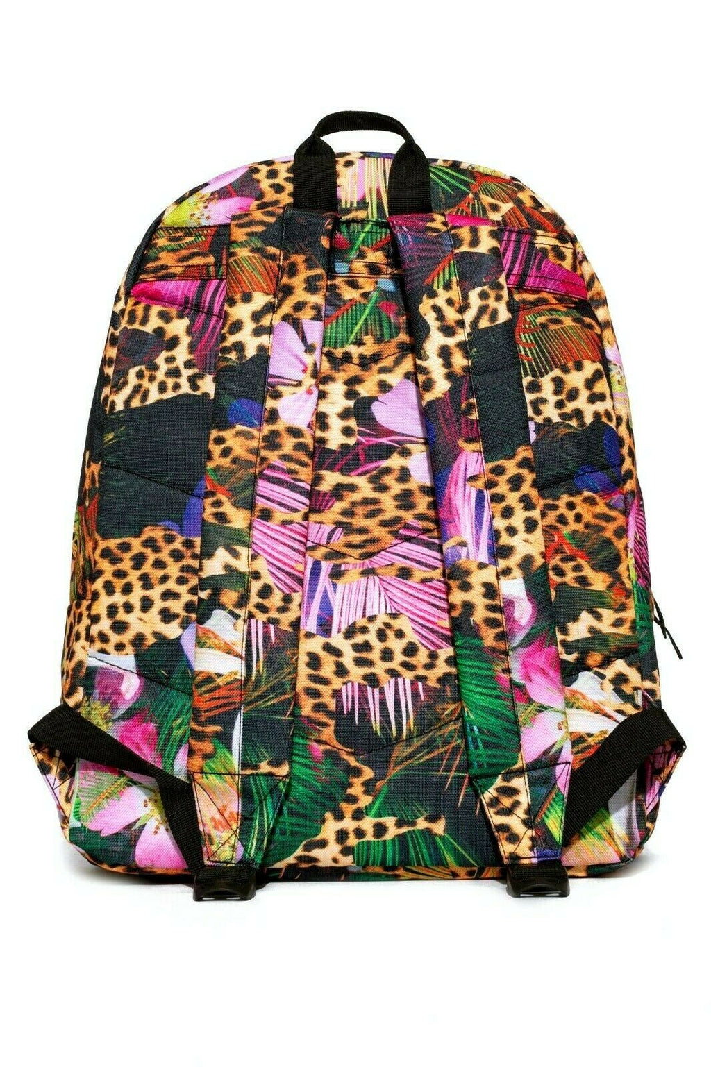 HYPE HOLOGRAPHIC JUNGLE BACKPACK RUCKSACK BAG - MULTI