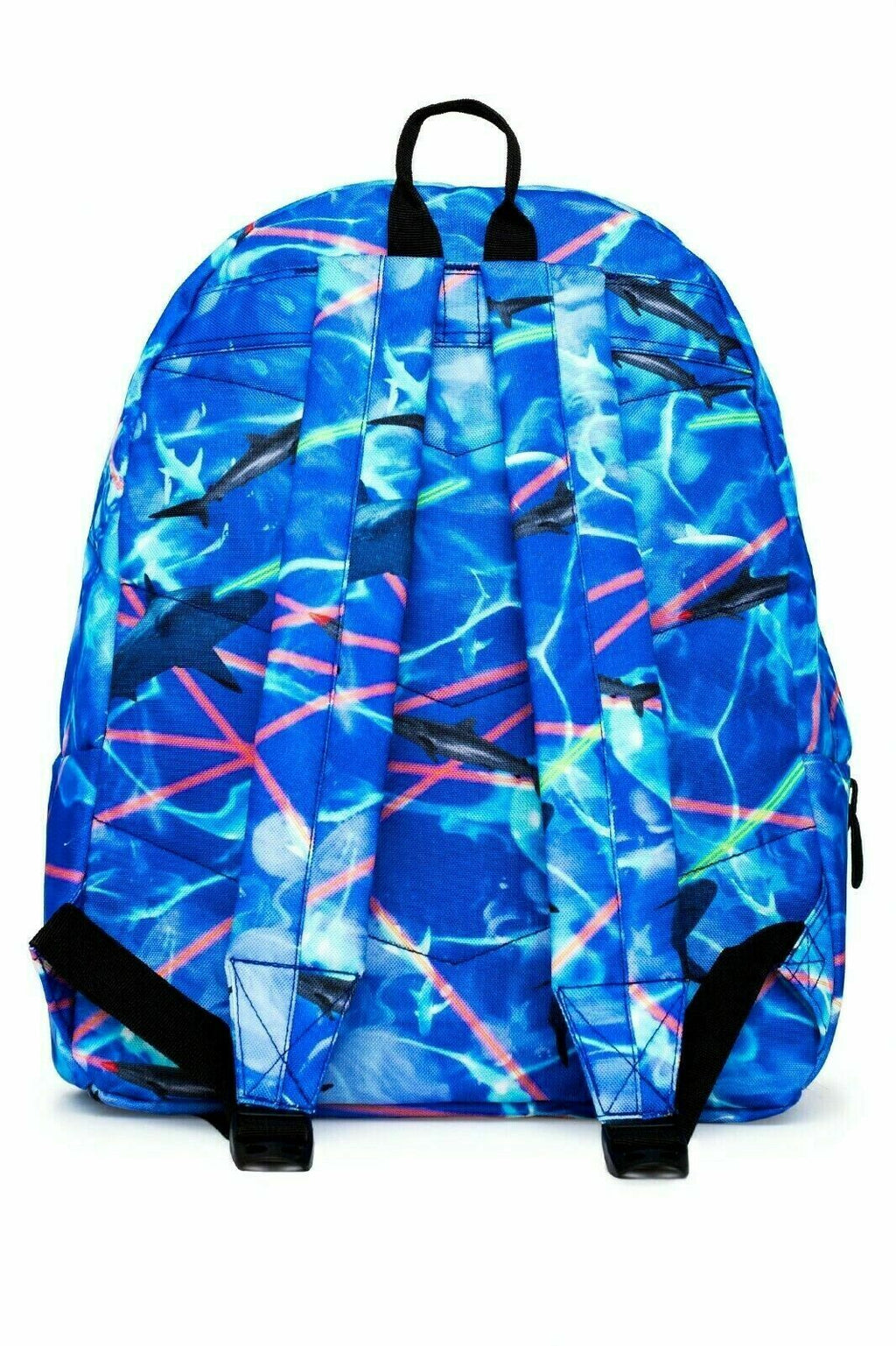 HYPE DEEP WATER BACKPACK RUCKSACK BAG - BLUE/MULTI