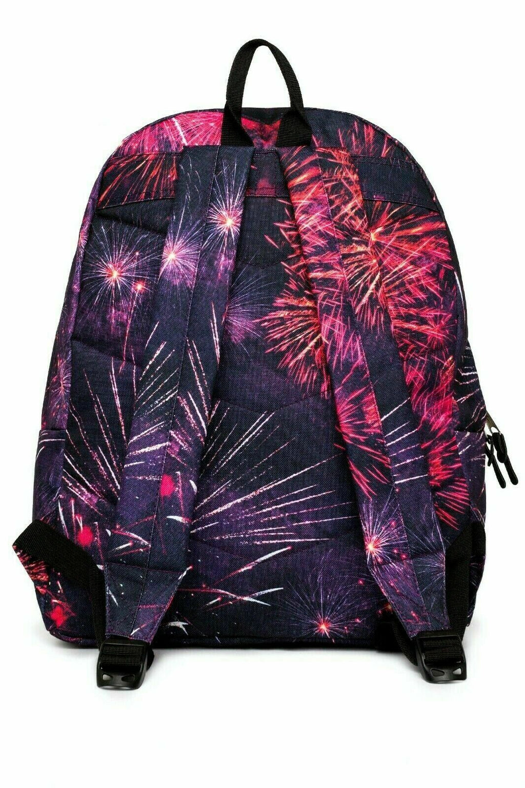 HYPE ELECTRIC FIREWORKS BACKPACK RUCKSACK BAG - MULTI