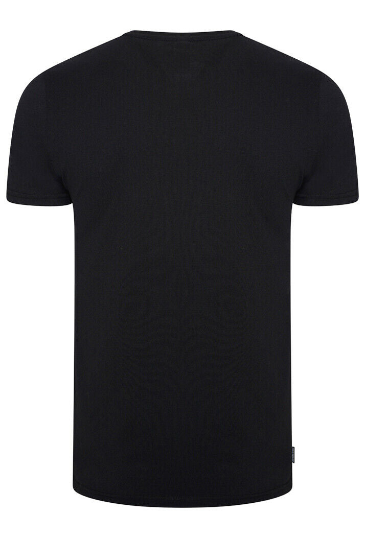 Core Logo Sport Stripe Black T-Shirt