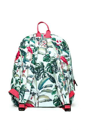 HYPE FLAMINGO PARADISE MINI BACKPACK RUCKSACK BAG - MULTI