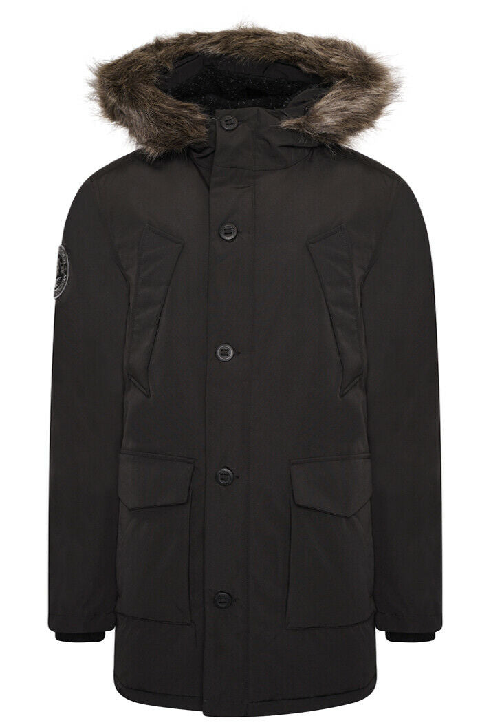Everest Parka Jacket - Black