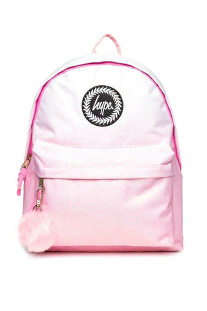 Pink Speckle Fade Backpack - Pink/White