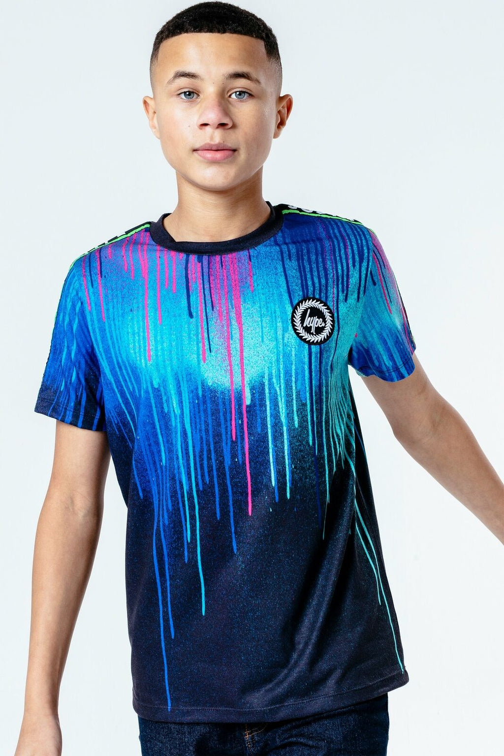 Neon Drips Kids T-Shirt