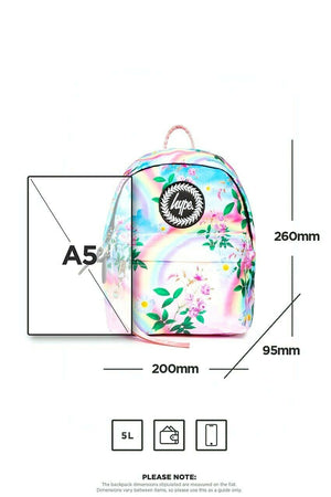 Daisy Rainbow Mini Backpack