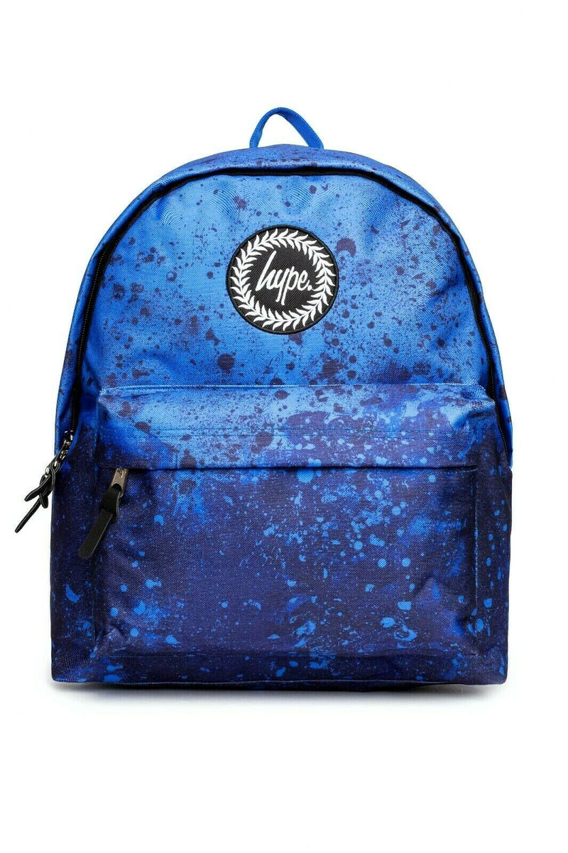 Blue Paint Splat Backpack