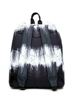 Double Drip Backpack - Black/White