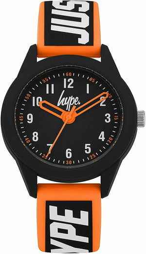 Black JUSTHYPE Kids Watch