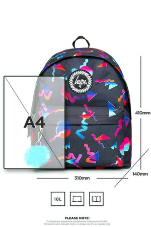 Neon Shapes Backpack