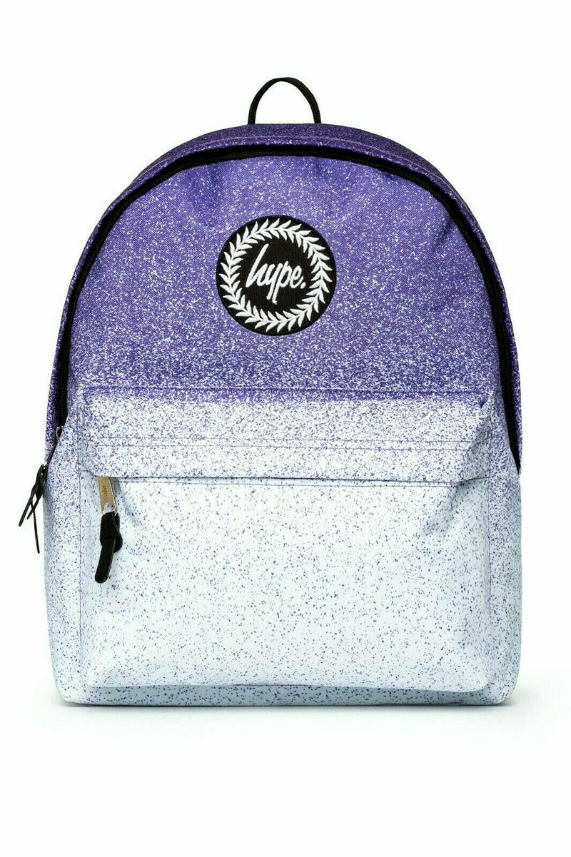 HYPE POWDER SPECKLE FADE BACKPACK RUCKSACK BAG - BLUE