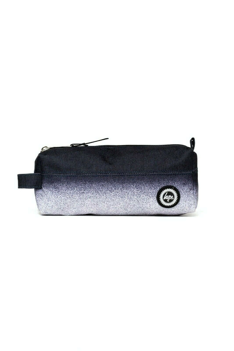 HYPE MONO SPECKLE FADE PENCIL CASE - BLACK/WHITE