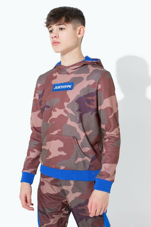Northern Camo Kids Pullover Hoodie