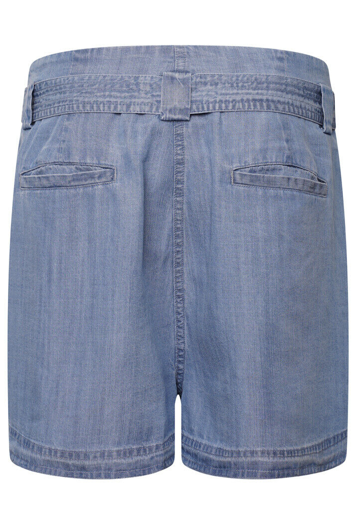 Desert Paper Bag Shorts - Indigo Light