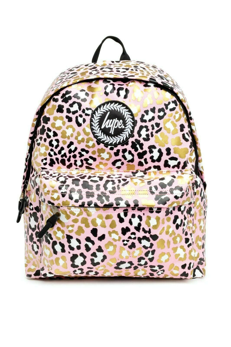 Glitter Leopard Backpack
