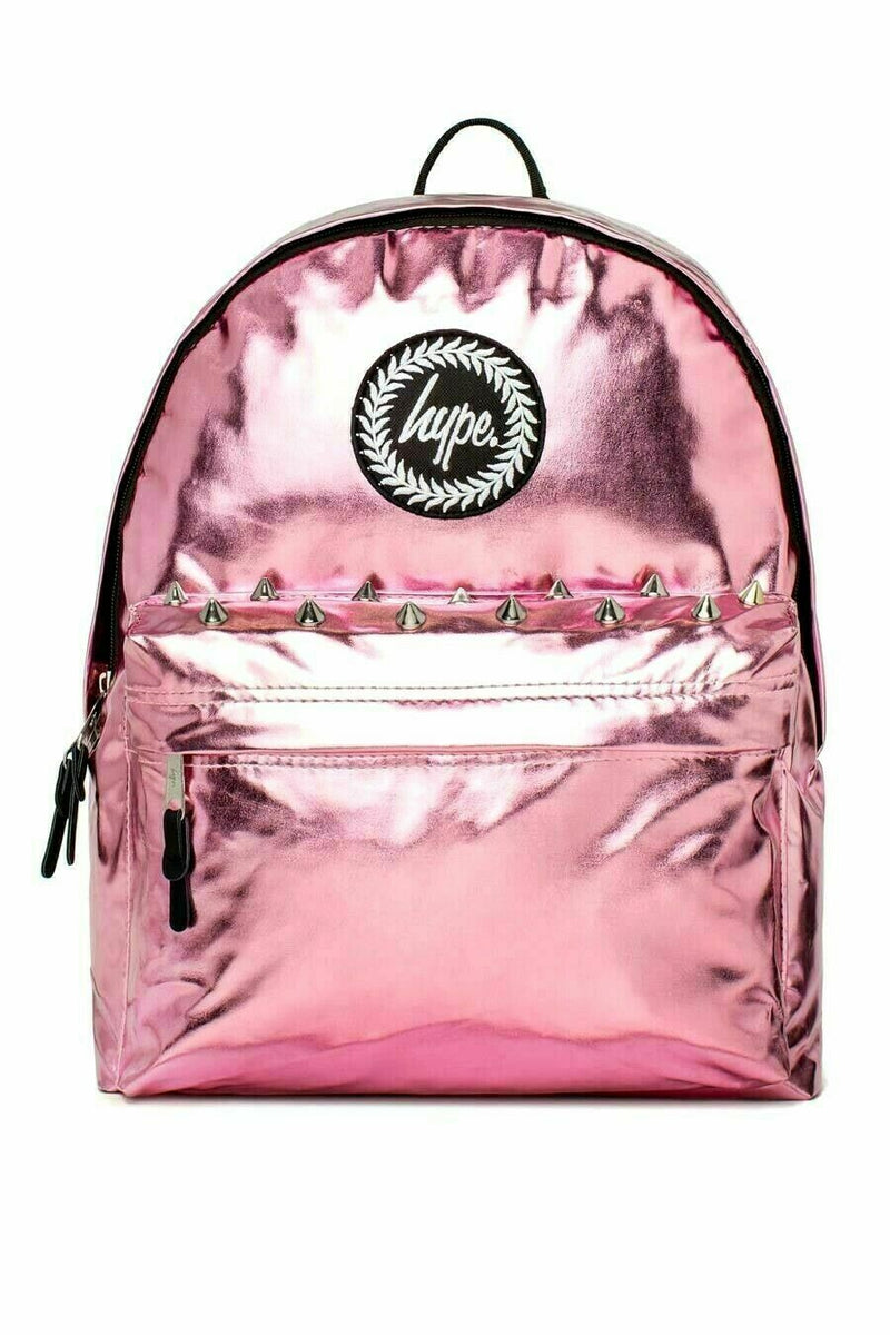 HYPE AZALEA HOLOGRAPHIC BACKPACK RUCKSACK BAG - PINK