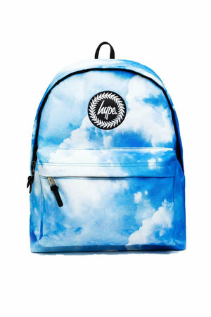 Clouds Backpack - Blue