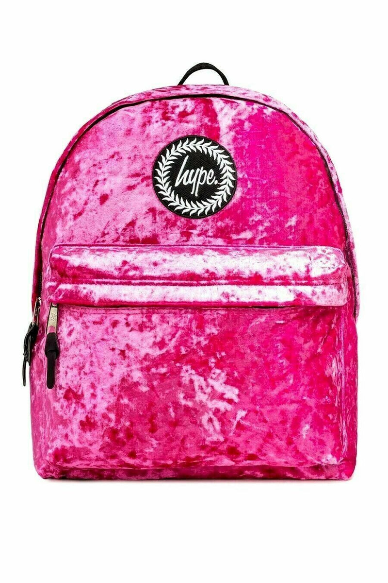 HYPE PINK LEMONADE BACKPACK RUCKSACK BAG - PINK