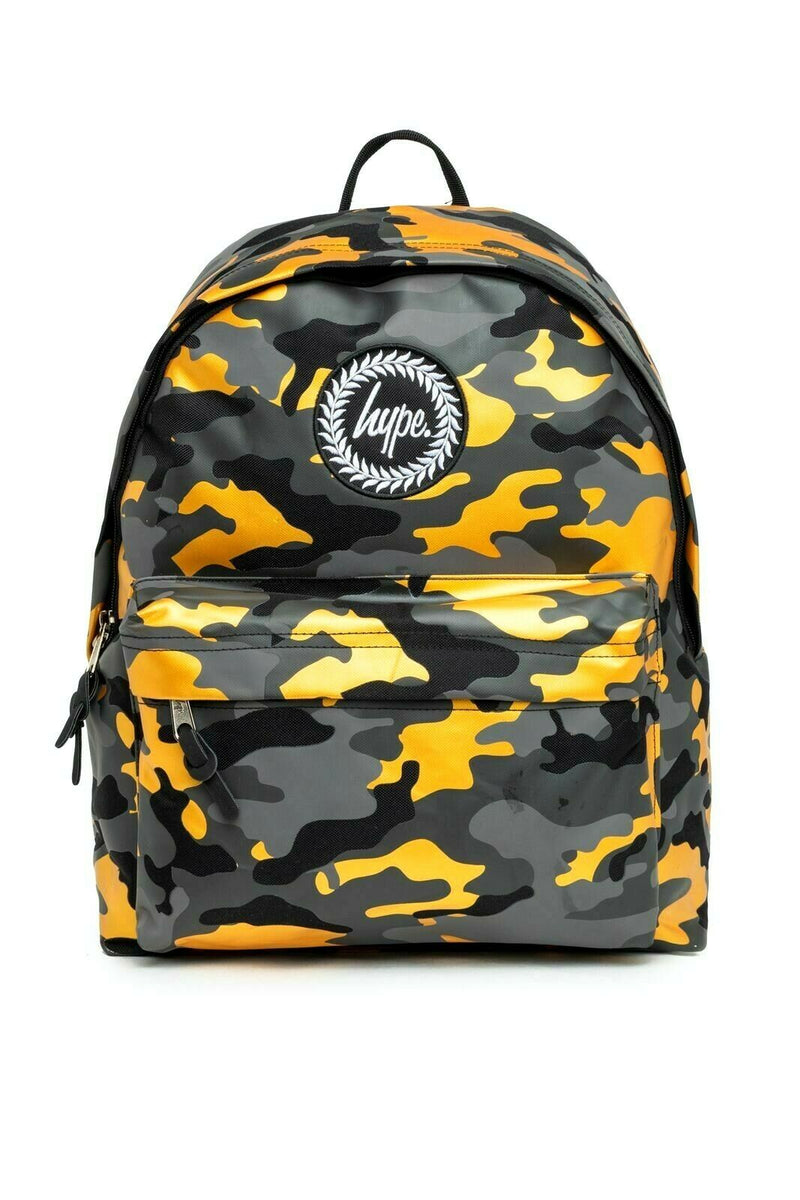 Gold Camo Backpack
