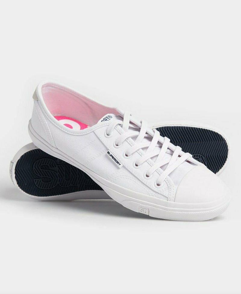 Low Pro Sneakers - Optic White