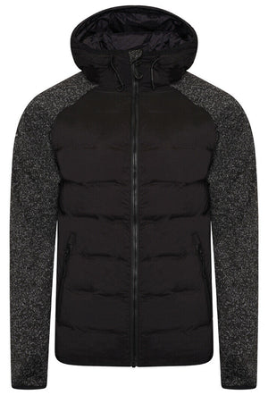 Sonic Hybrid Zip Through Jacket - Sonic Black Grit
