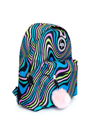 Wavey Rainbow Backpack