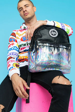 Holographic Drips Backpack