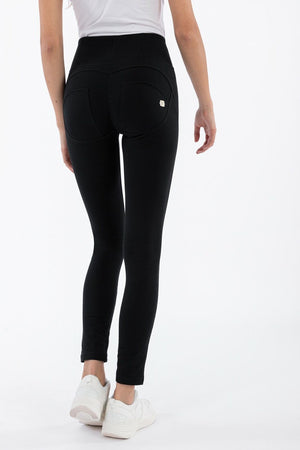 WR.UP® High-Rise Skinny-Fit Stretch Cotton Trousers - Black