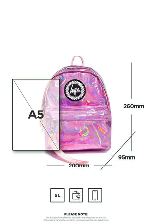 Pink Holo Mini Backpack