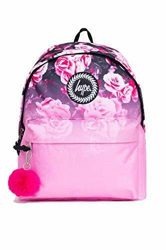 Pink Floral Fade Backpack - Pink