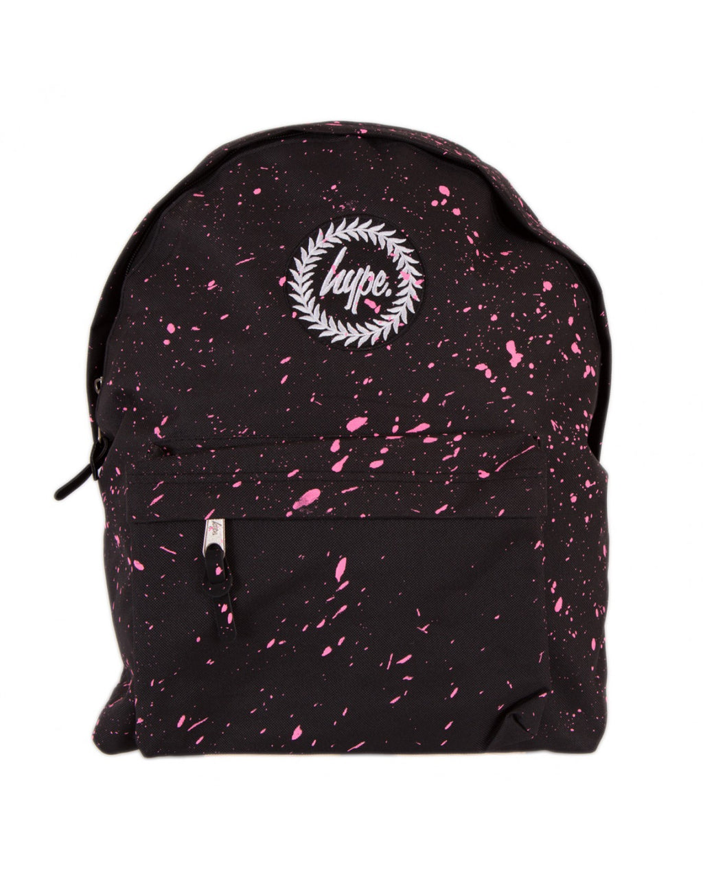 HYPE SPECKLE BACKPACK RUCKSACK BAG - BLACK/PINK