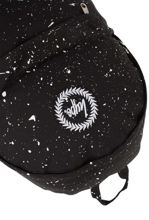 HYPE SPECKLE BACKPACK RUCKSACK BAG - BLACK/WHITE