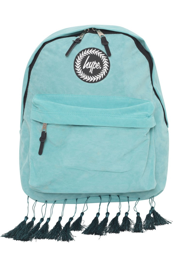 HYPE TASSEL BACKPACK RUCKSACK BAG - MINT