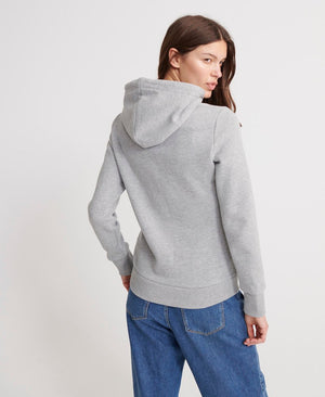 Registered Flock Hoodie - Grey Marl