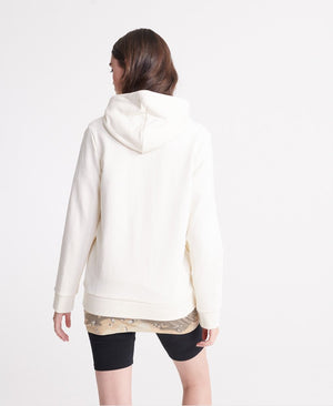 Orange Label Elite Zip Hoodie - Buttercream