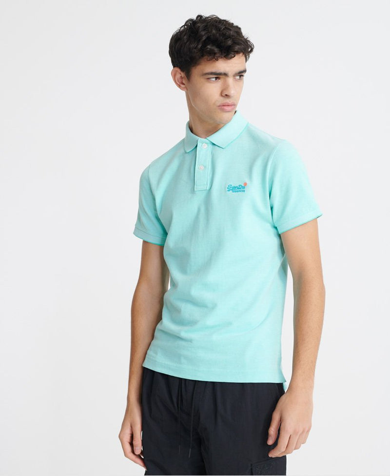 Classic Pique Short Sleeve Polo Shirt - Spearmint