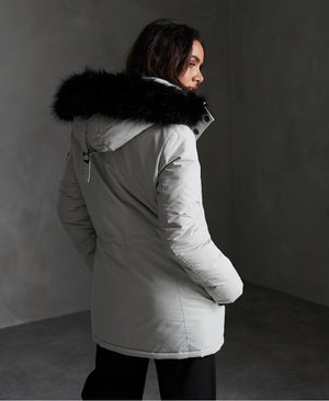 Ashley Everest Parka Jacket - Glacier Grey