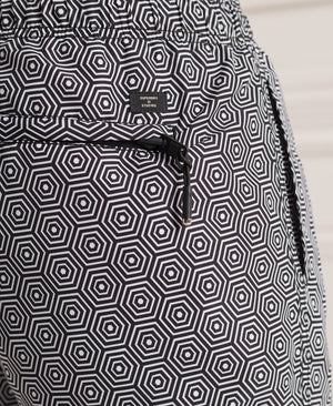 Studios Swim Shorts - Mono Hex Black