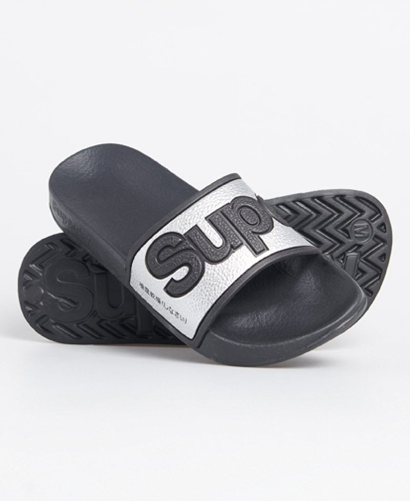 Eva 2.0 Pool Sliders - Silver
