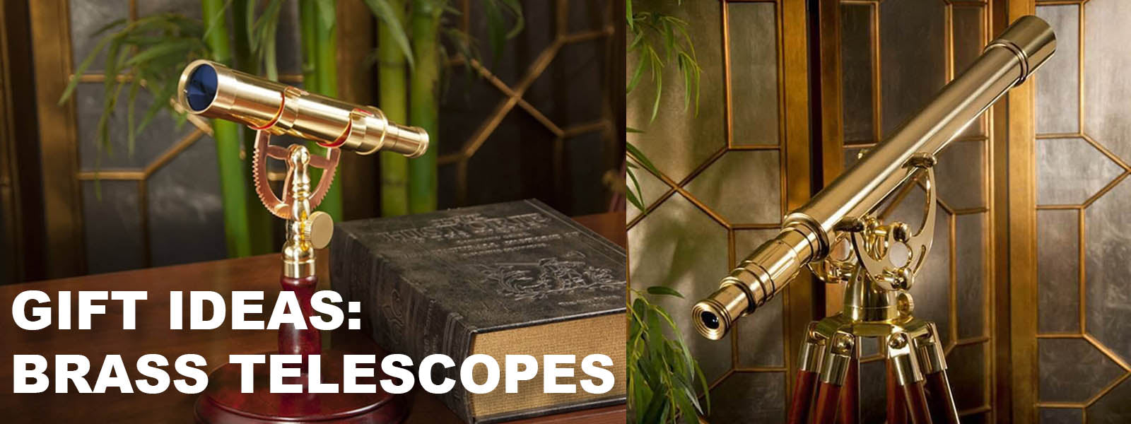 Gift Ideas: Fully Functional Brass Telescopes serve as both Home Decor & Amazing Gifts!